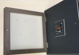 Ключница-часы бабочка - М10.04-02 (из. 2)