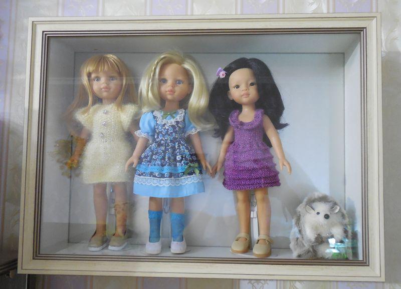 витрина для кукол