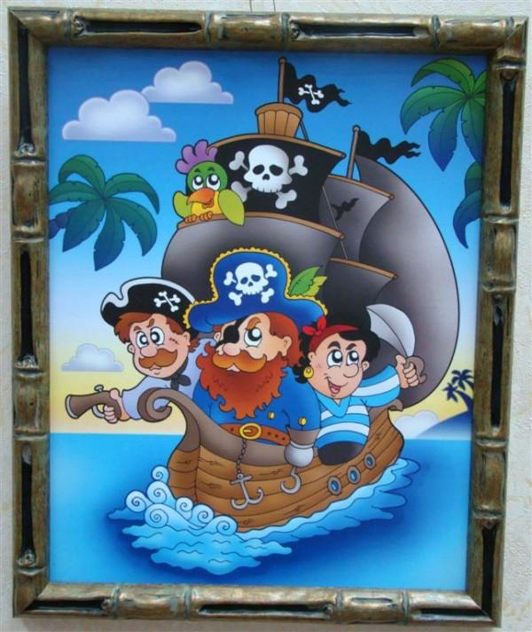 постер на пиратскую вечеринку говорилось ранее